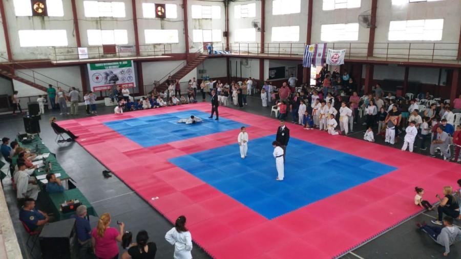 Torneo de judo en Lanús