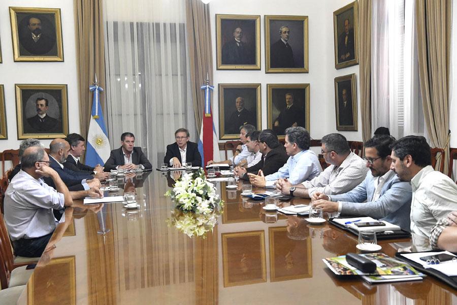 Gobierno y Mesa de Enlace avanzan en una agenda conjunta para 2020