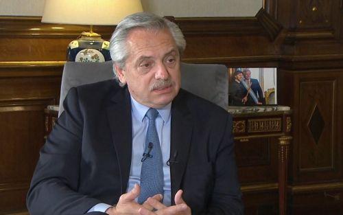 """Las retenciones son """"un pedido de ayuda al campo"""", afirmó Alberto Fernández"""