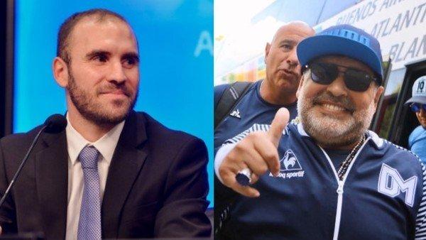 El ministro de Economía: un hincha de Gimnasia que sueña con conocer a Maradona