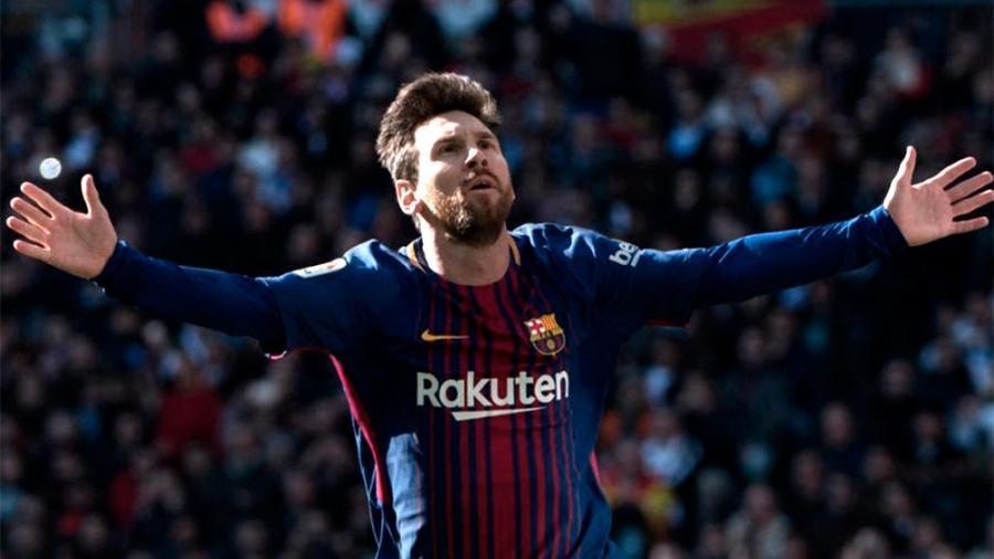 Barcelona, con gol de Messi, goleó al Alavés y es líder