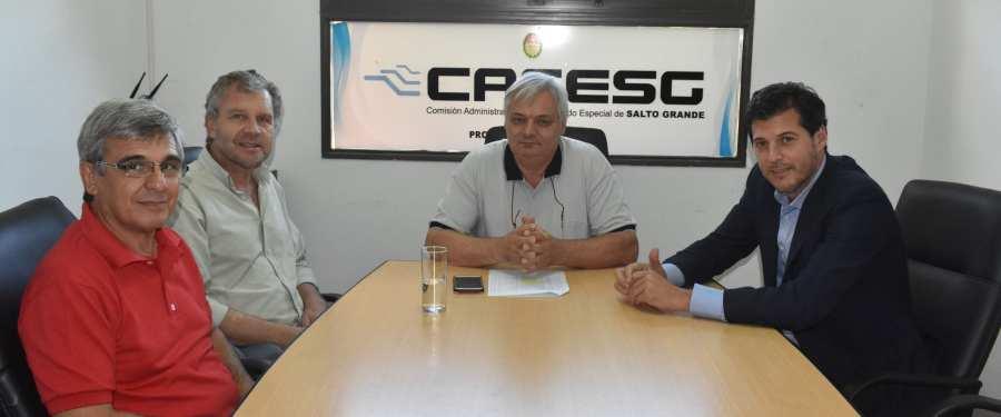 CAFESG acuerda obras prioritarias con comunas de la Región de Salto Grande