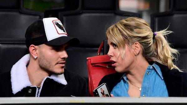 El provocador mensaje de Wanda Nara tras la derrota del Inter en el clásico con Milan