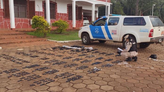 contrabando-en-misiones:-prefectura-incauto-un-cargamento-millonario-de-celulares-ilegales