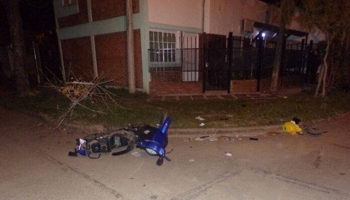 villaguay:-se-entrego-el-dueno-del-auto-que-atropello-un-motociclista-y-se-dio-a-la-fuga