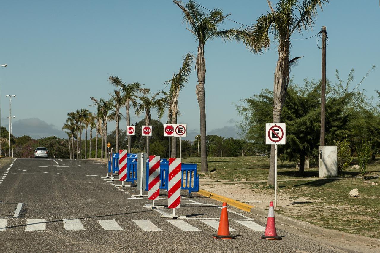 registro-conducir:-demarcan-una-nueva-pista-en-el-parque-nuevo