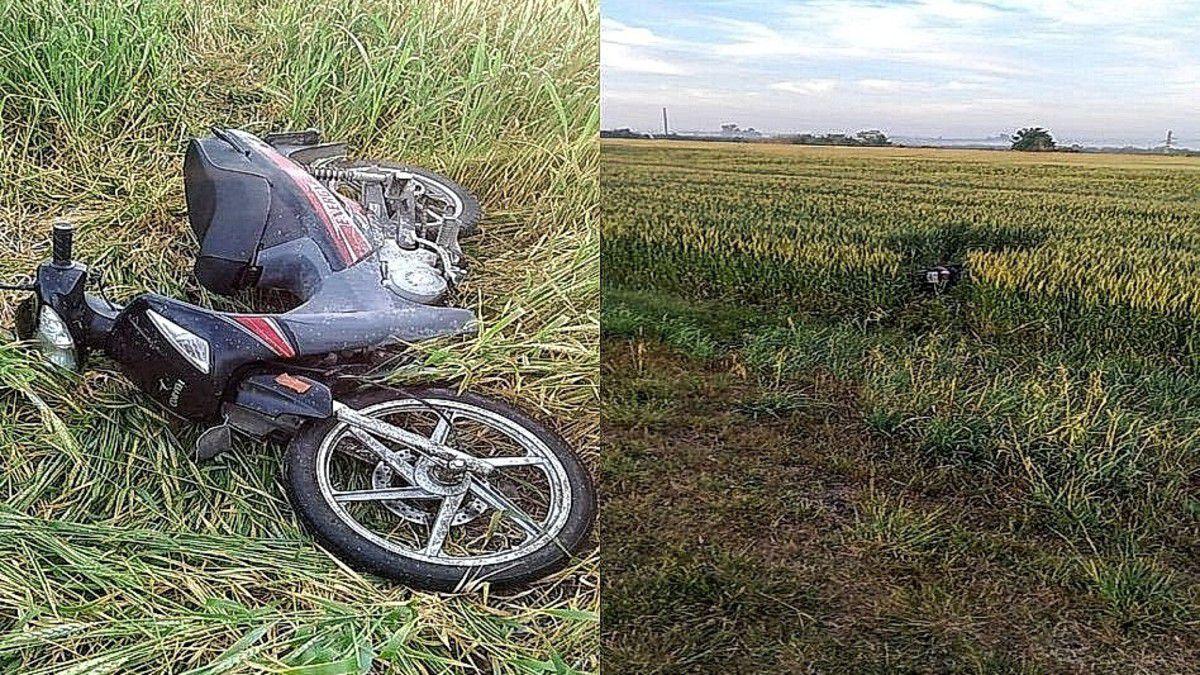 ruta-12:-colisiono-a-un-motociclista-y-lo-dejo-abandonado